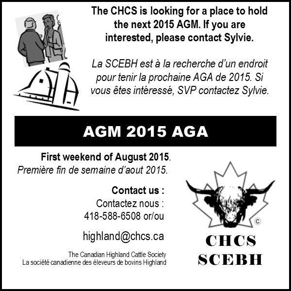 CHCS Annual General Meeting